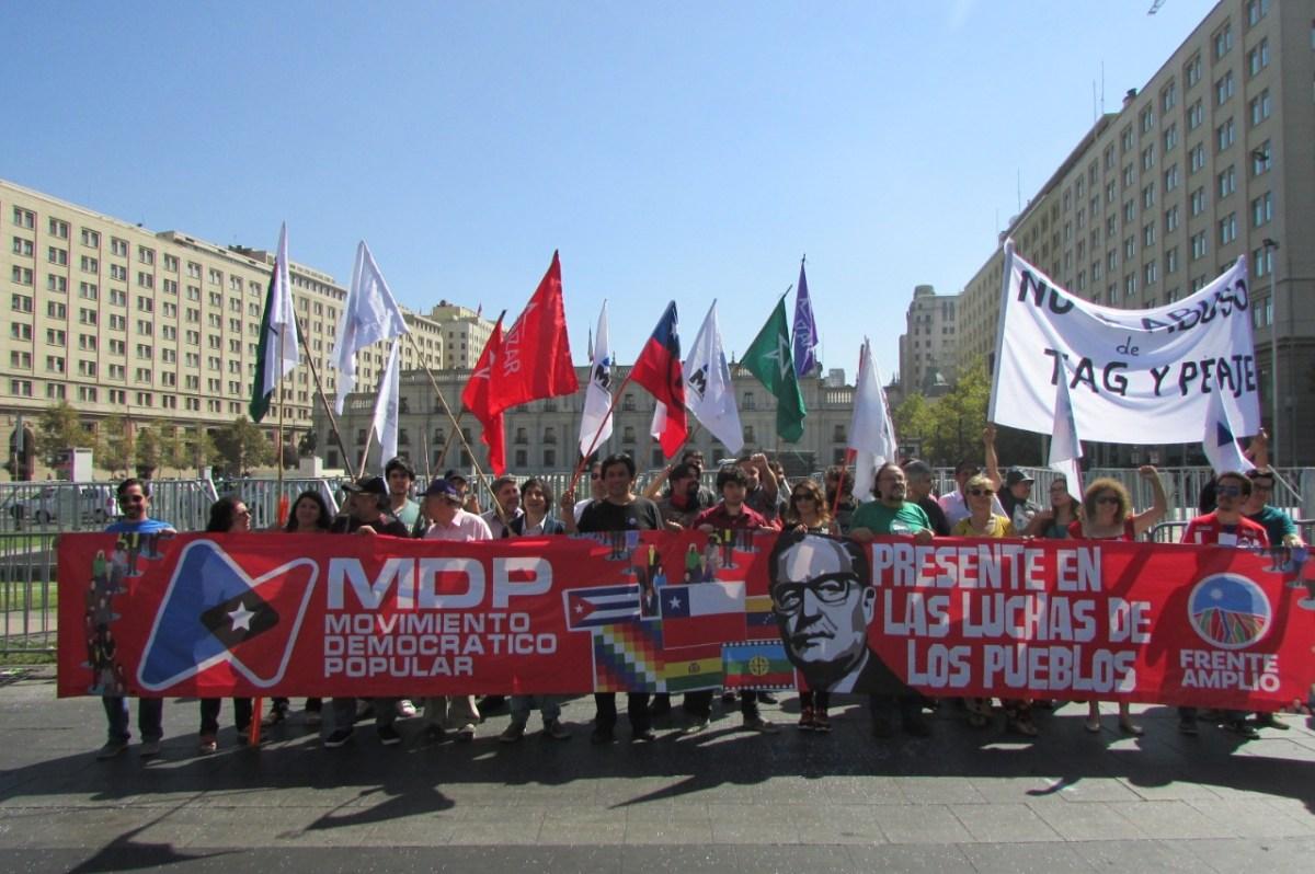Declaración del MDP en rechazo a la aprobación del TLC Chile-Uruguay