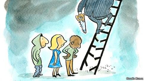 Estudio de la OCDE echa por tierra mito del chorreo neoliberal