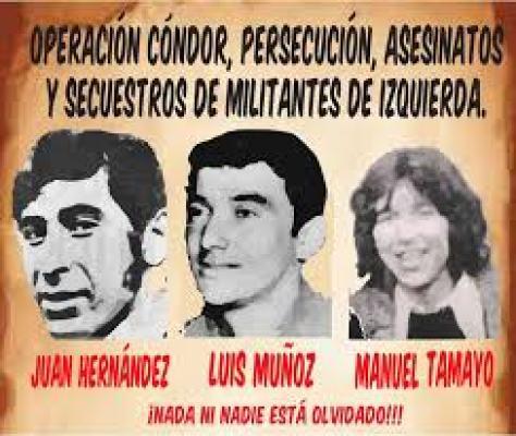 Por Ricardo Klapp: Homenaje a Tres Luchadores Sociales, Detenidos  Desaparecidos | Crónica Digital