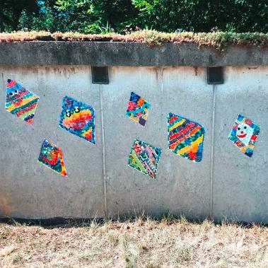 Mit Mosaik gestalten – Stein an Stein