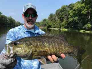 Grand River 21 inch Smallmouth