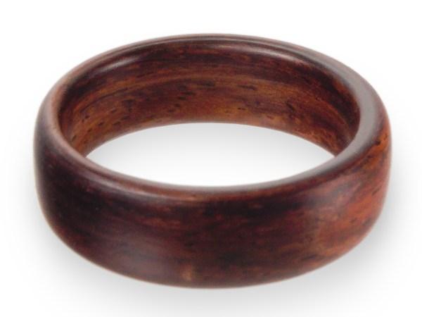 Holzring aus Ostindischem Rosenholz