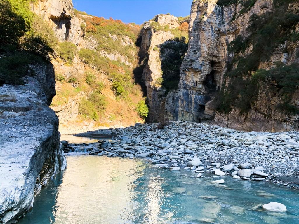 Kanioni i Lengarices - Albanien