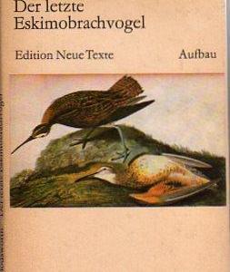 Der letzte Eskimobrachvogel