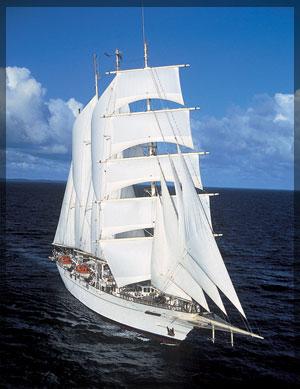 Senior cruise on a clipper ship
