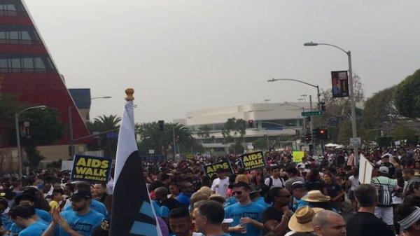 AIDS Walk LA  92