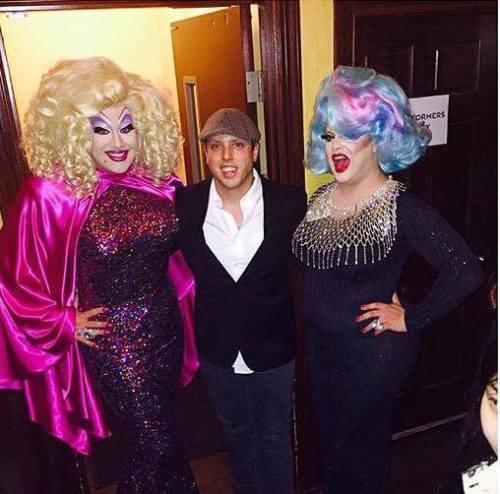 Peaches Christ, DJ Chris Urban and Pissi Myles