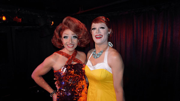 Backstage 'Berry: Cacophony Daniels at Don't Tell Mama 1