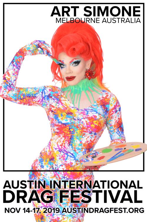Austin International Drag Festival Headliner Announcement: Art Simone 73