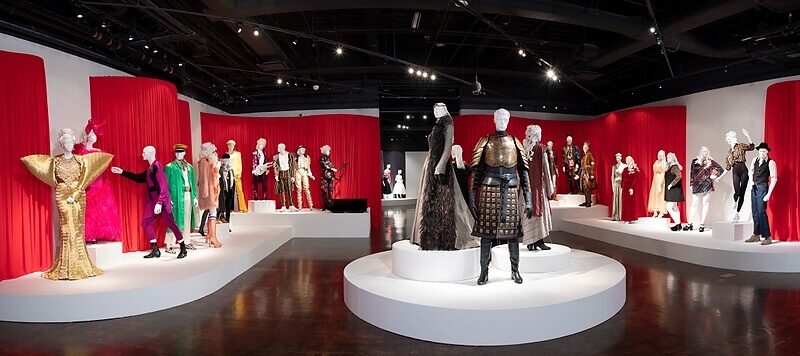 "A Haute Second with Spencer: The 13th ""Art of Television Costume Design"" Exhibition 73"