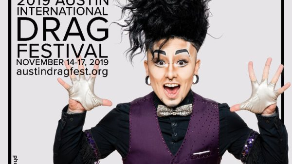 Austin International Drag Festival Headliner Announcement: Damien D'Luxe 97
