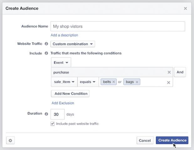 facebook targeting audiences wersm 2