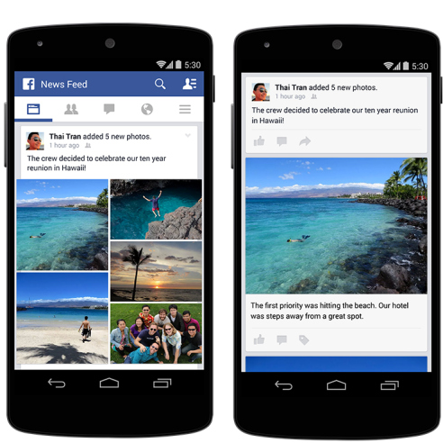 photos featured mobile newsfeed facebook wersm