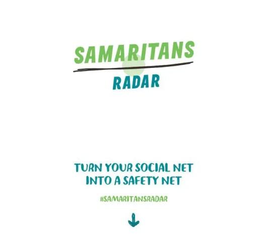 wersm samaritans radar twitter app