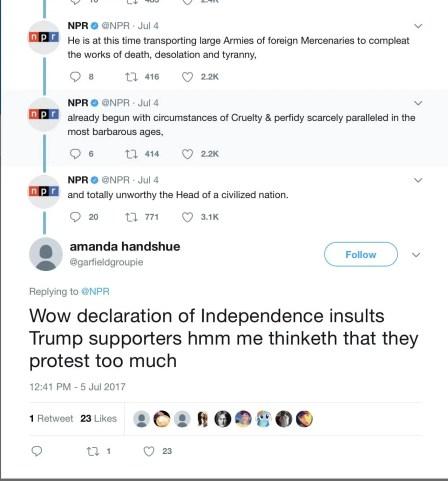 wersm npr declaration of independence twitter 2
