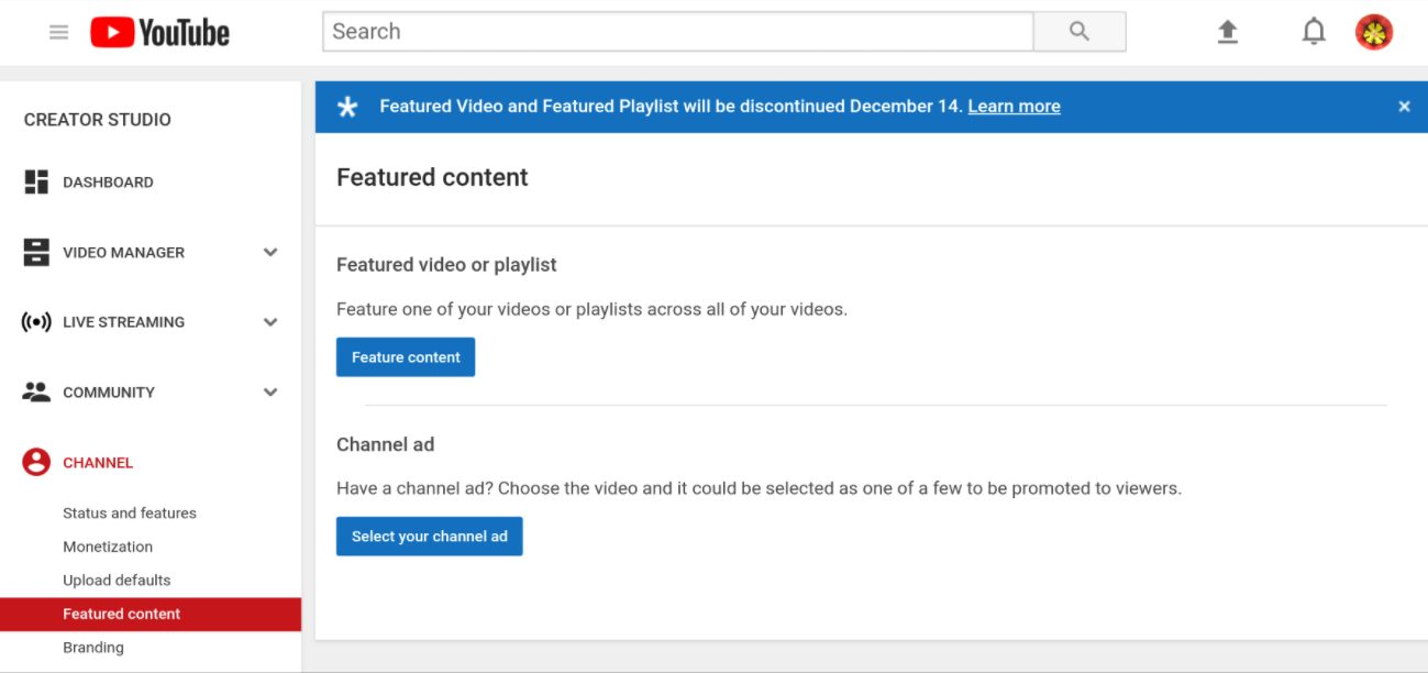 YouTube Is Getting Rid Of In-Video Notifications For