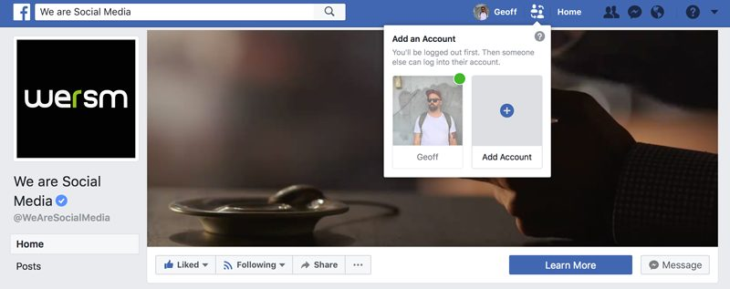 Using More Than One Facebook Account? This Is For You