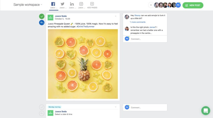 wersm planable facebook post preview