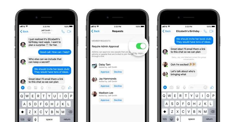 wersm-messenger-group-chats-admin-privileges