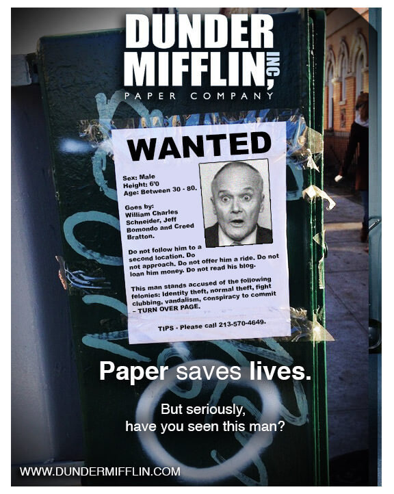 how dunder mifflin could have sold
