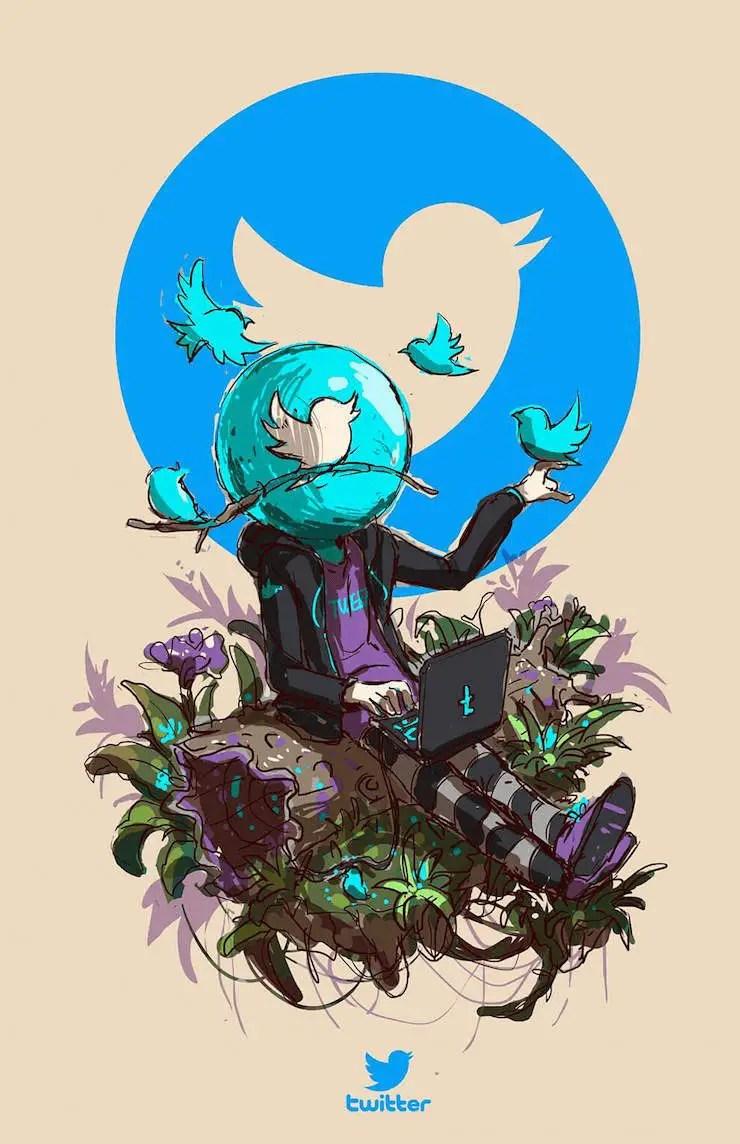 wersm-social-media-humanoid-twitter