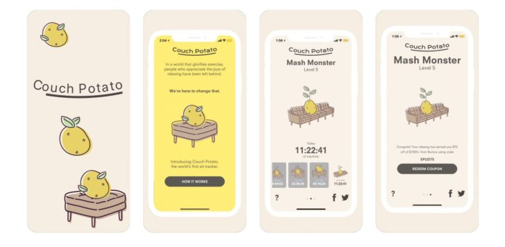 wersm burrows couch potato app