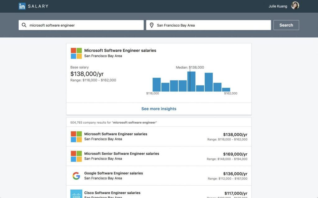 wersm-linkedin-makes-it-easier-to-find-the-right-job-with-updated-job-search-features-Companysalarypage
