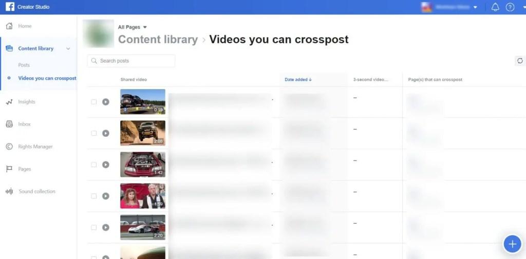 wersm-facebook-launches-creator-studio-crosspost