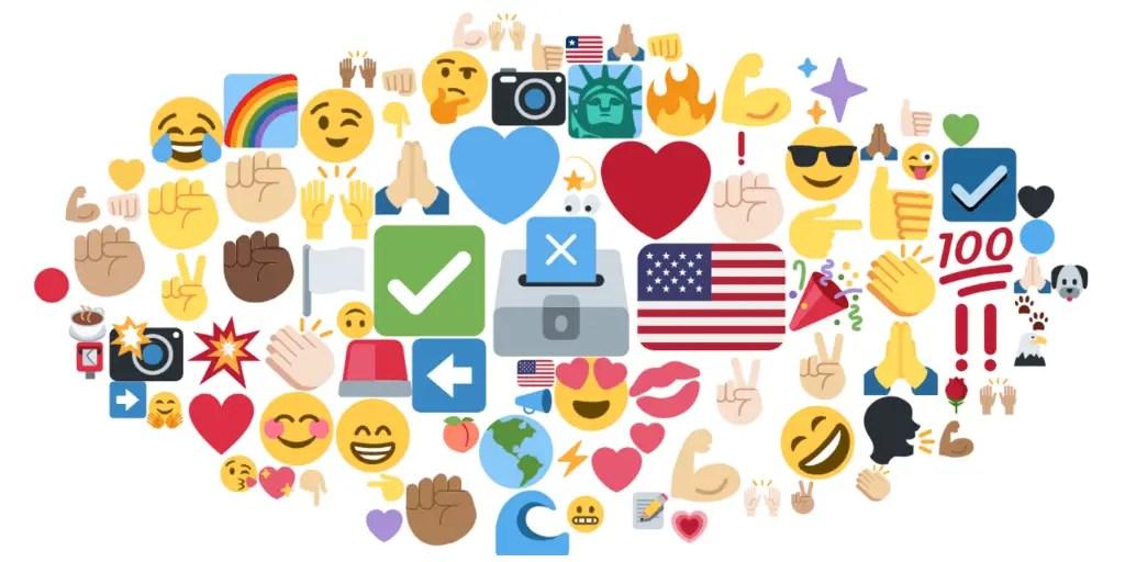 Emojis, Emotions, Social Media, Midterms, WeRSM, We Are Social Media