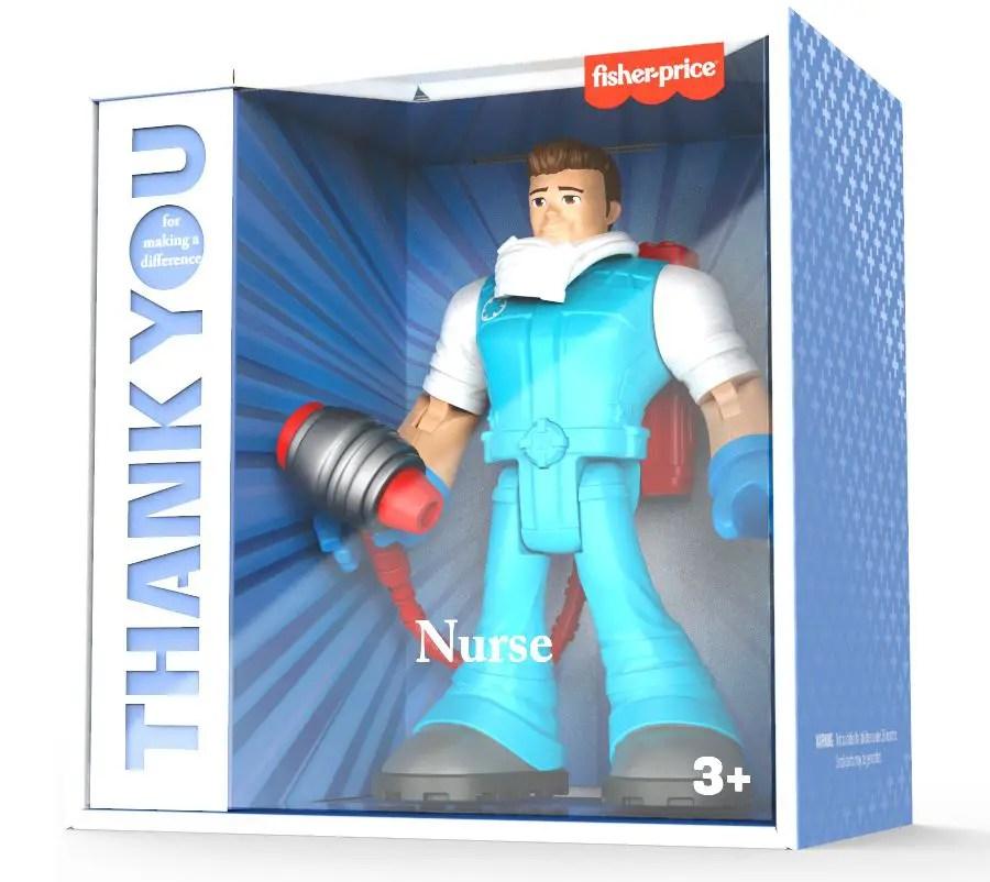 Mattel heroes of the pandemic