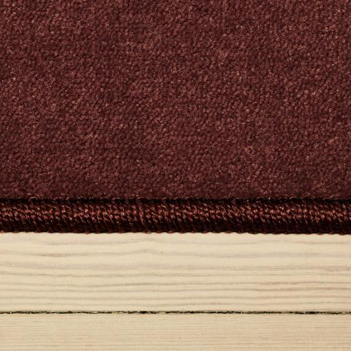 heatherfarvet tæppe fra WeRug med kant
