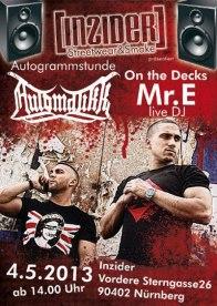 Mr. E with Automatikk Rap Group from Nürnberg