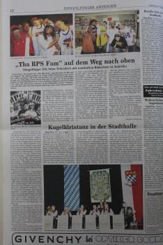 Mr. E & his crew RPS Fam Interview at Dingolfinger Anzeiger, Back in October 23, 2004