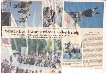 Mr. E at Dingolfinger Skatefestival