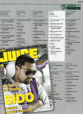 Mr. E DJ Charts for Juice 3
