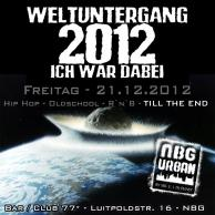 """Weltuntergang 2012"" Party with Mr. E, Club / Bar *77, Nürnberg Germany"