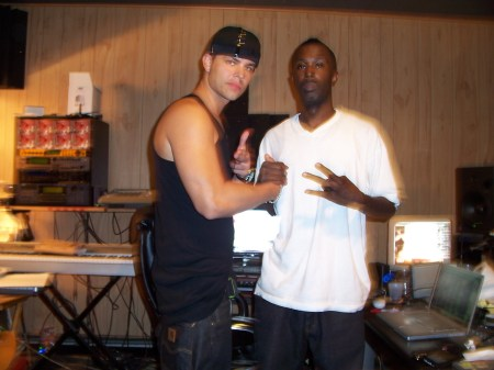 With legendary Producer Dame Grease in White Planes, NY