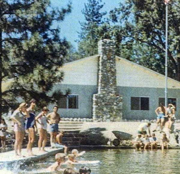 1960s photos of people at WES Camp