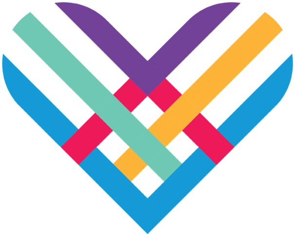 Colorful Giving Tuesday Heart