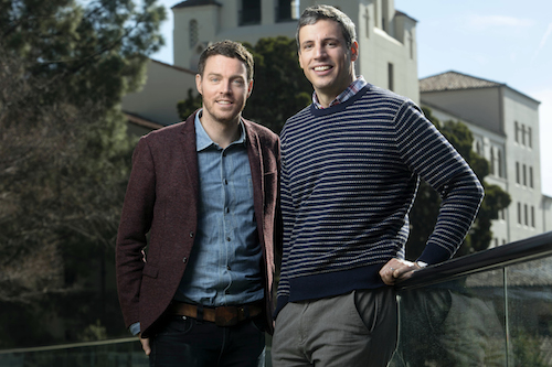Robert Strand (left) and Faris Natour (right) are leading efforts for the Human Rights and Business Initiative at UC-Berkeley's Haas School of Business. Photo courtesy of Berkeley-Haas
