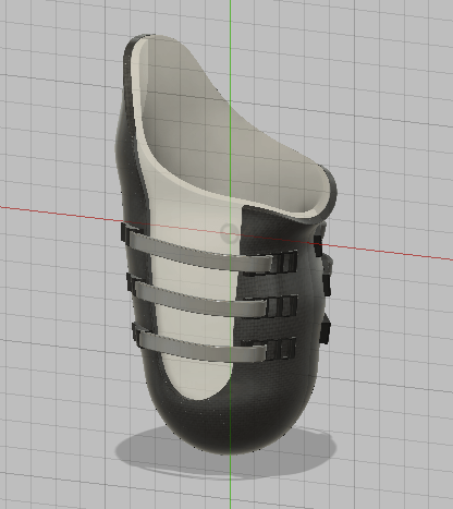 A computer graphic design of Humure's socket. Photo courtesy of Autodesk