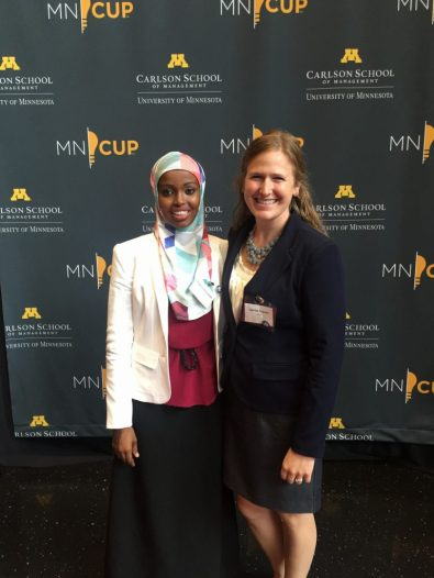 Co-founders Fatimah Hussein and Jamie Glover. Courtesy photo