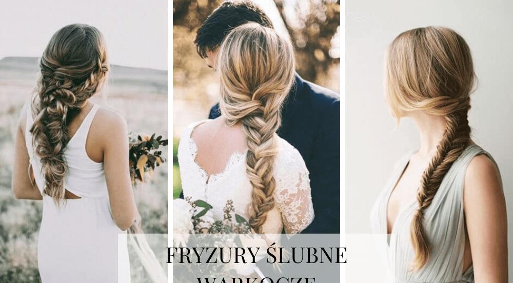 Fryzury ślubne – warkocz ślubny w roli głównej i nie tylko