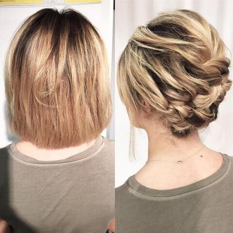 Fryzury ślubne I Weselne Dla Krótkich Włosów