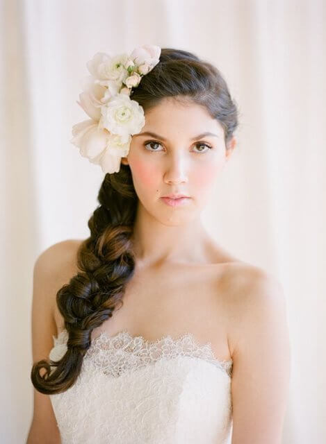 Warkocz ślubny w roli głównej i nie tylko