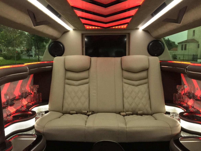 2016 Cadillac Xts Limousine Interior