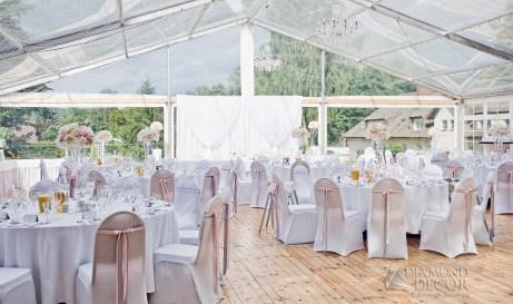 dwór oliwski - namiot weselny