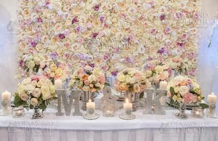 ścianka kwiatowa na wynajem