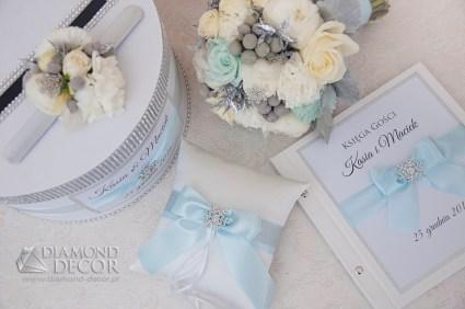 zimowy zestaw ślubny