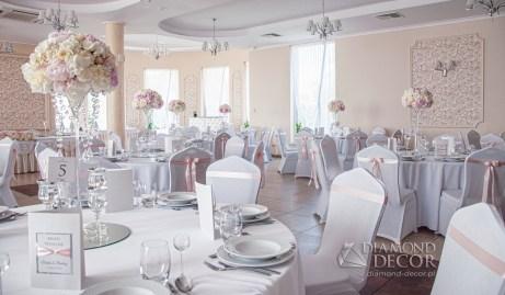 Leszczynowy Dworek - dekoracja ślubna